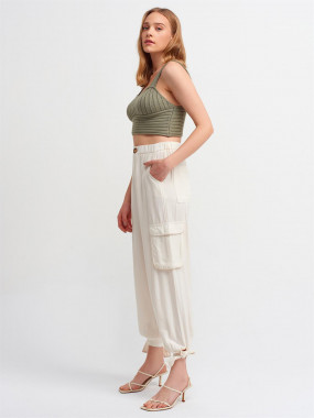 Cropped Cami & French Terry Shorts Set
