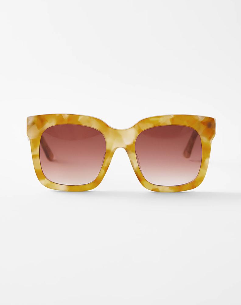 Zara square acetate sunglasses
