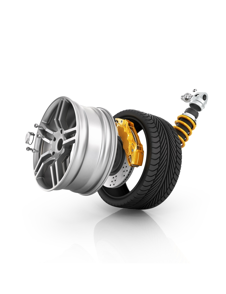 Buy wheel rim hub watch custom design